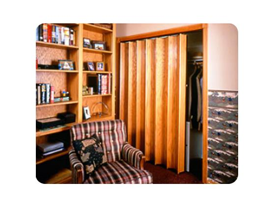 Accordion door 140 series for closet-3