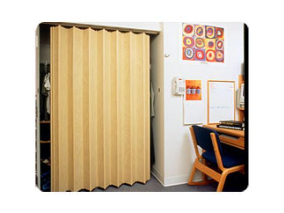 Accordion door 140 series for closet-4