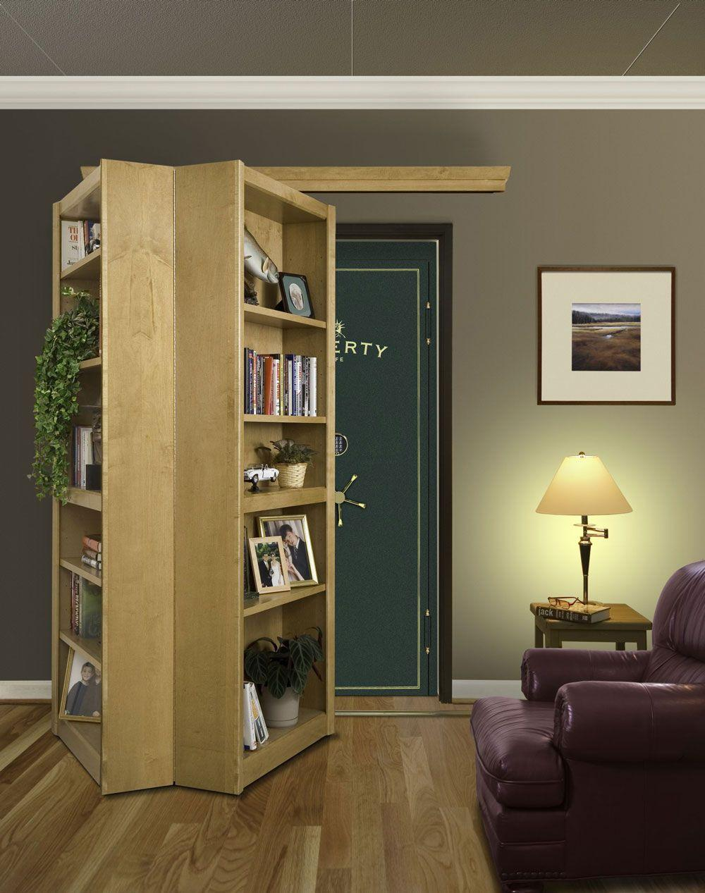 Bi Folding Bookcase Door