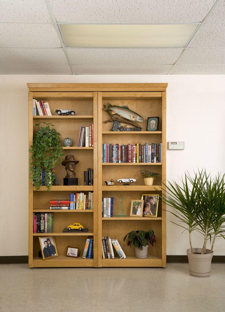 Bi Folding Bookcase Door-3