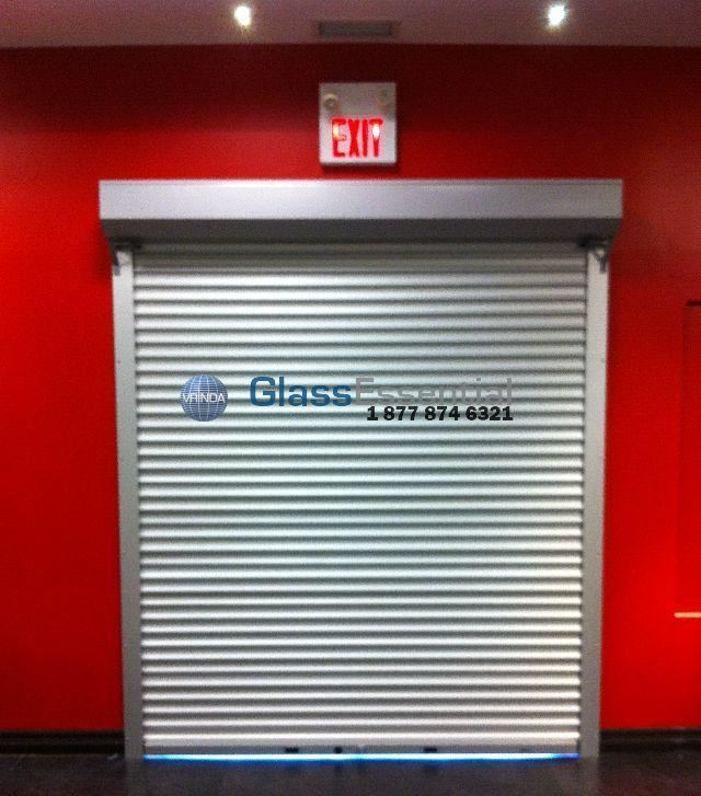 560 Series Solid Aluminum Security Rollup Door