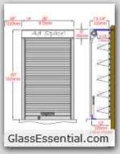Cigarette Tobacco Display Security Shutter-2