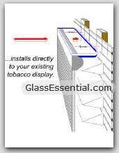 Cigarette Tobacco Display Security Shutter-3