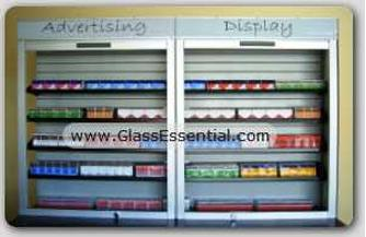 Cigarette Tobacco Display Security Shutter-5