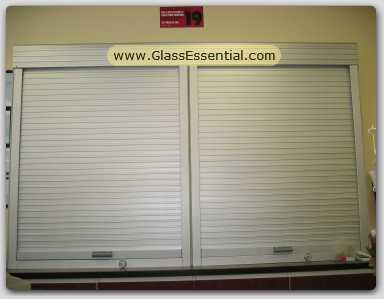 Cigarette Display Rolling Shutter Cabinet