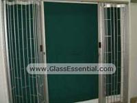 Cigarette Display Security Cage With Folding Security Grille-3