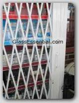Folding gate Cigarette Display Cage-5