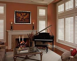 custom wood plantation shutter