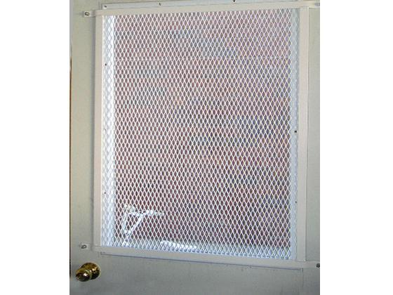 Expanded Mesh Metal Security Door Grille