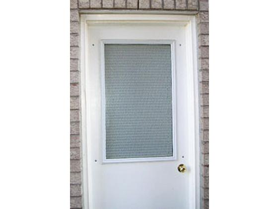 Expanded Mesh Metal Security Door Grille-2