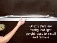 Grizzly Exit Door Security Bar