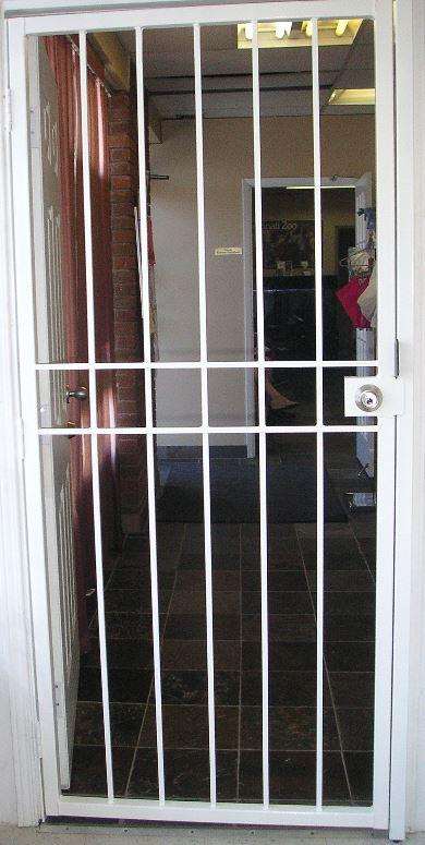 Security Gate for Commercial Entrance Door
