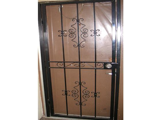 residential decorative security door gate