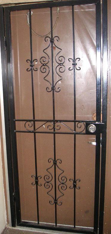 residential decorative security door gate-3