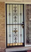 residential decorative security door gate-2