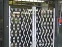 Delivery Bay Door Security Folding Gate
