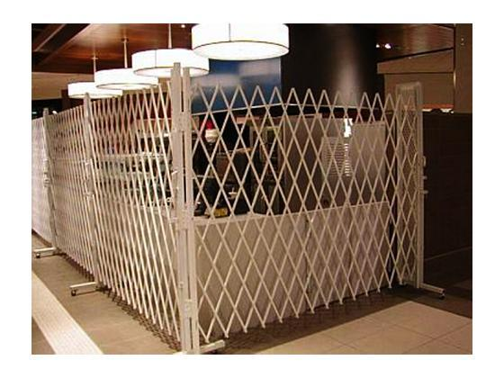 Folding Gate For Movable Access Control-3