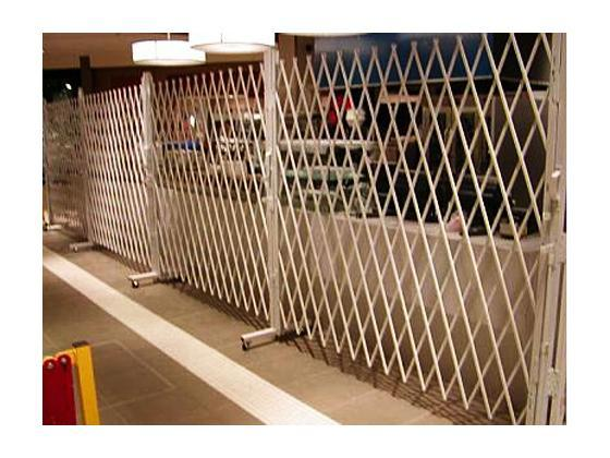 Folding Gate For Movable Access Control-4
