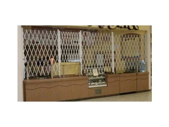 Folding Gate For Counter Closure Security Application-3