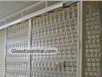 Folding gate for Security Enclosure-Cigarette Display Cage