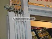 Folding gate for Security Enclosure-cigarette display cage-2