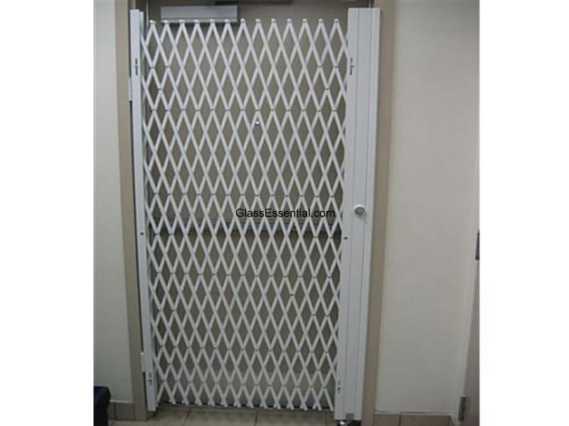 Folding Gate For Storefront Security