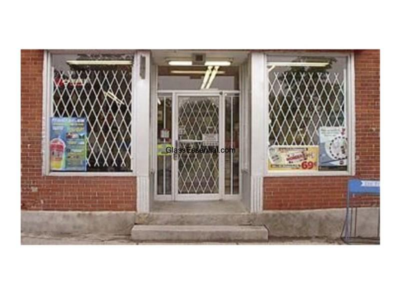 Security Gate For Convenience Store Window Door