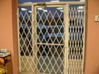 Folding Security Gate-Office Door