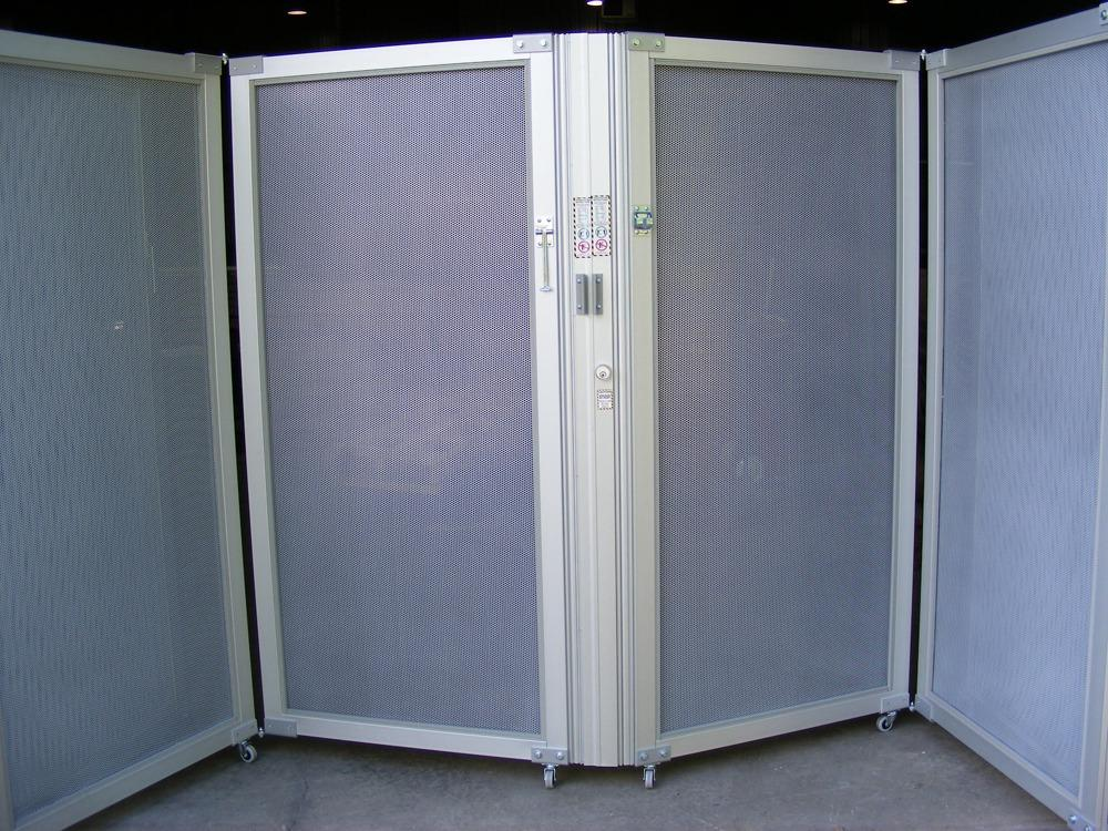 Mobile-Folding-Partition-perforated-Panel