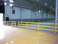 Safety Railing for Warehouse