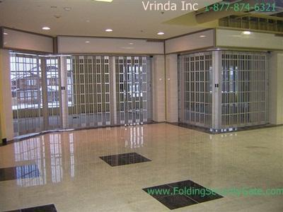 Sliding Folding Security Grille-9