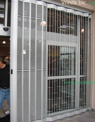 Sliding Folding Security Grille-20