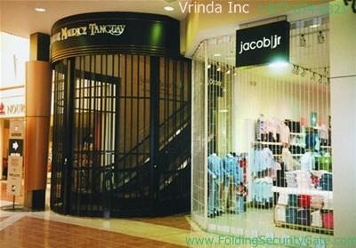 Sliding Folding Security Grille-21