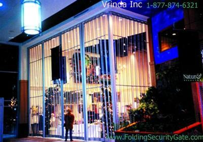 Sliding Folding Security Grille-22