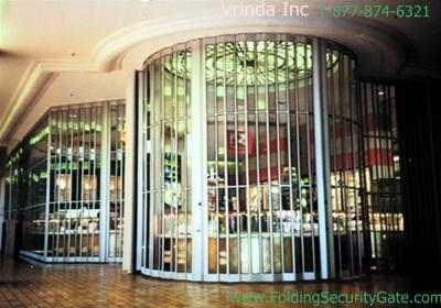 Sliding Folding Security Grille-24