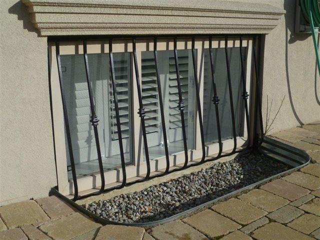 Decorative Window Security Bars Spanish Custom