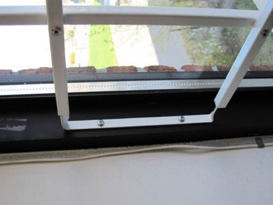 Fixed window security Folding Bars-3
