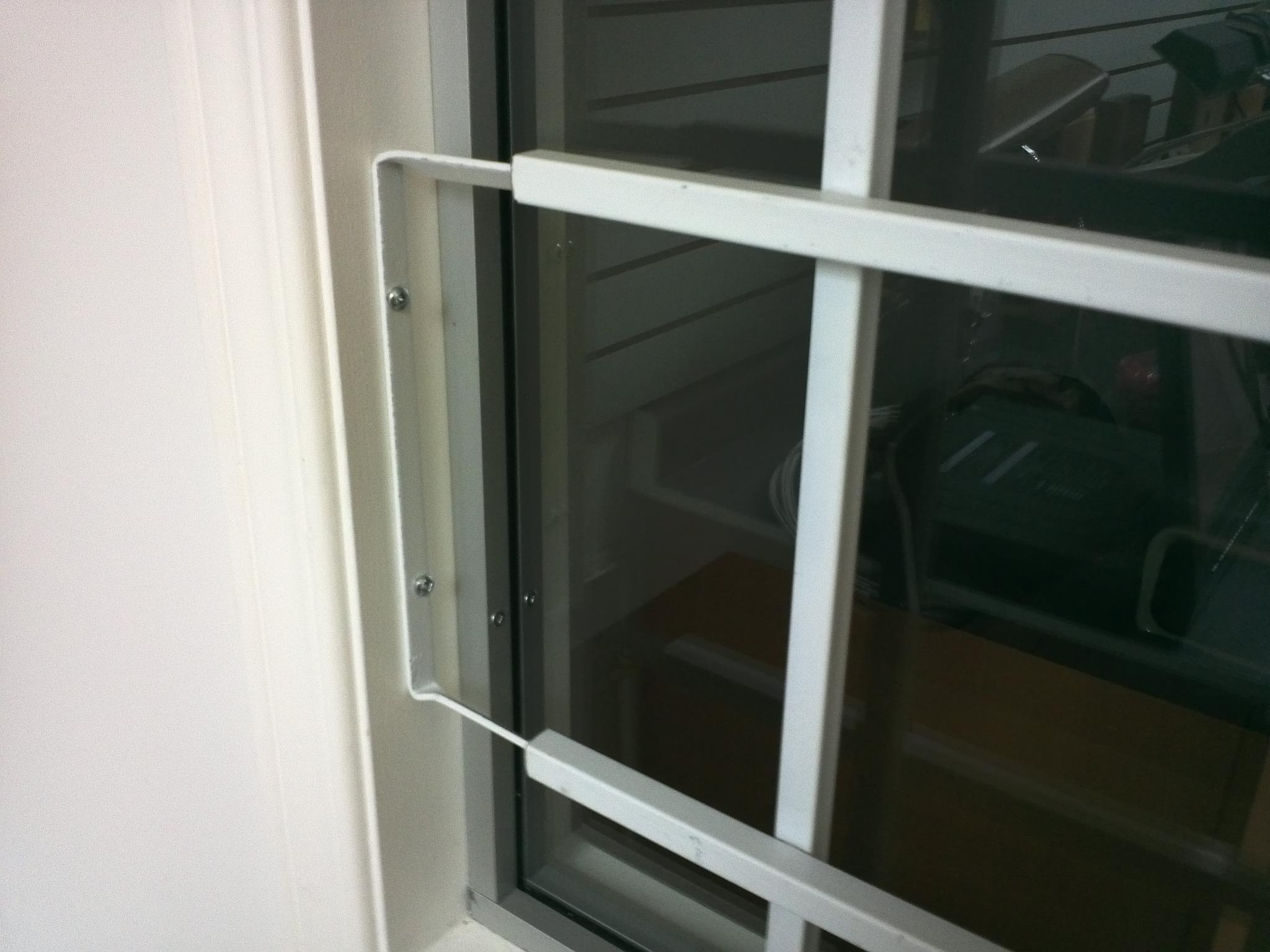 steel fixed window bars