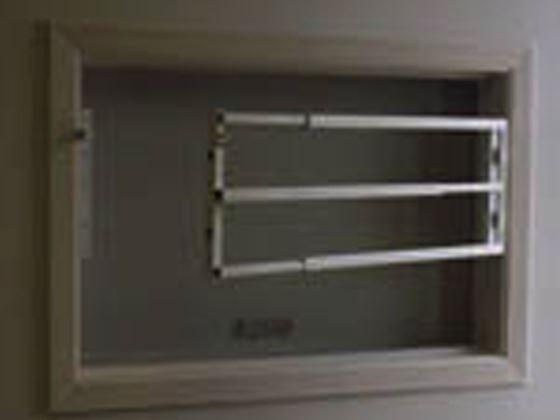 Steel Removable Security Bars Expandable-Swing