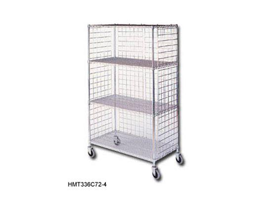 Wire Mesh stock-picking-cart